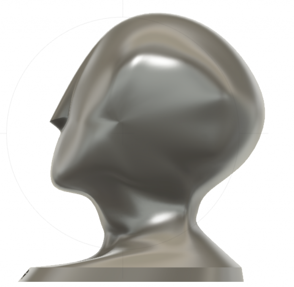 organic CAD model