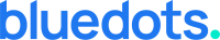 bluedots design logo